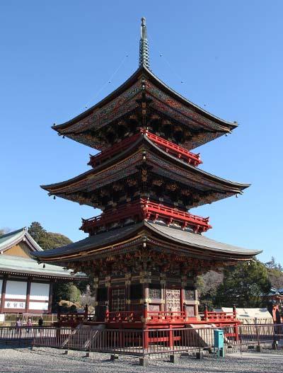 Three-Storied Pagoda(Sanjunoto)